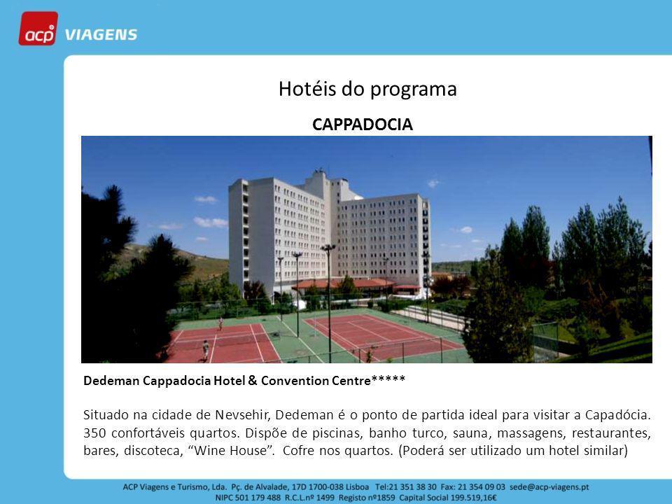 Hotéis do programa CAPPADOCIA