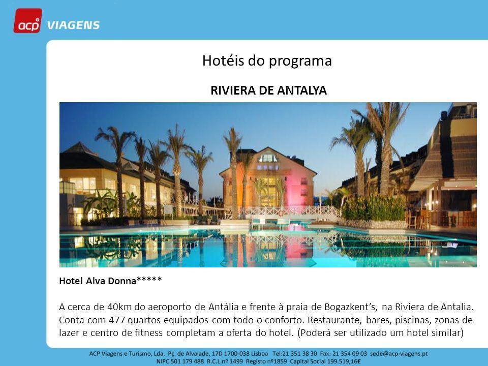 Hotéis do programa RIVIERA DE ANTALYA Hotel Alva Donna*****