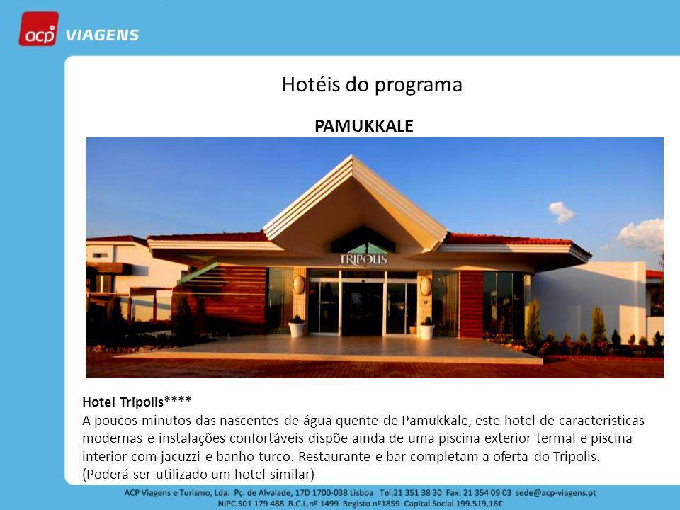 Hotéis do programa PAMUKKALE Hotel Tripolis****