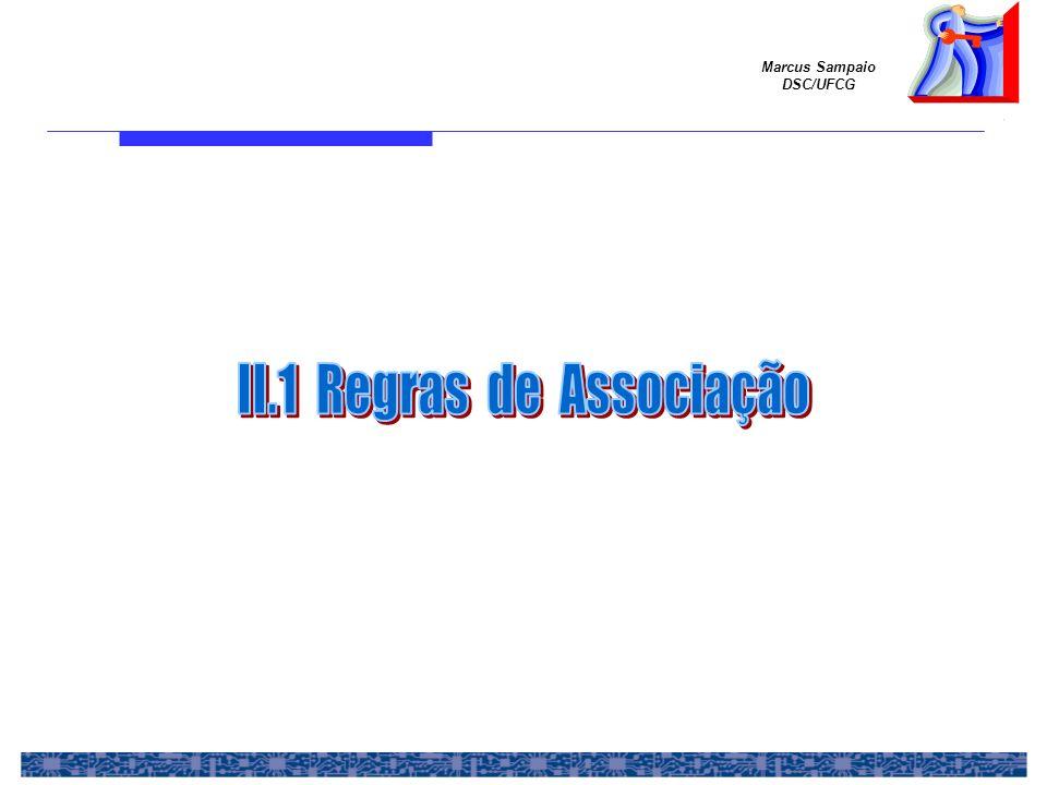 II.1 Regras de Associação