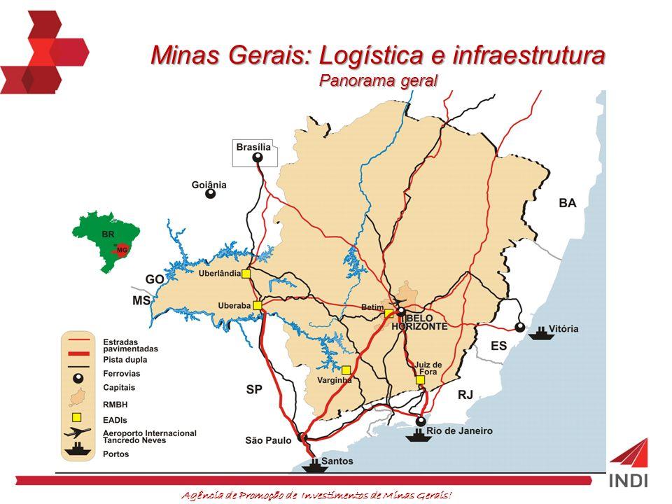 Minas Gerais: Logística e infraestrutura