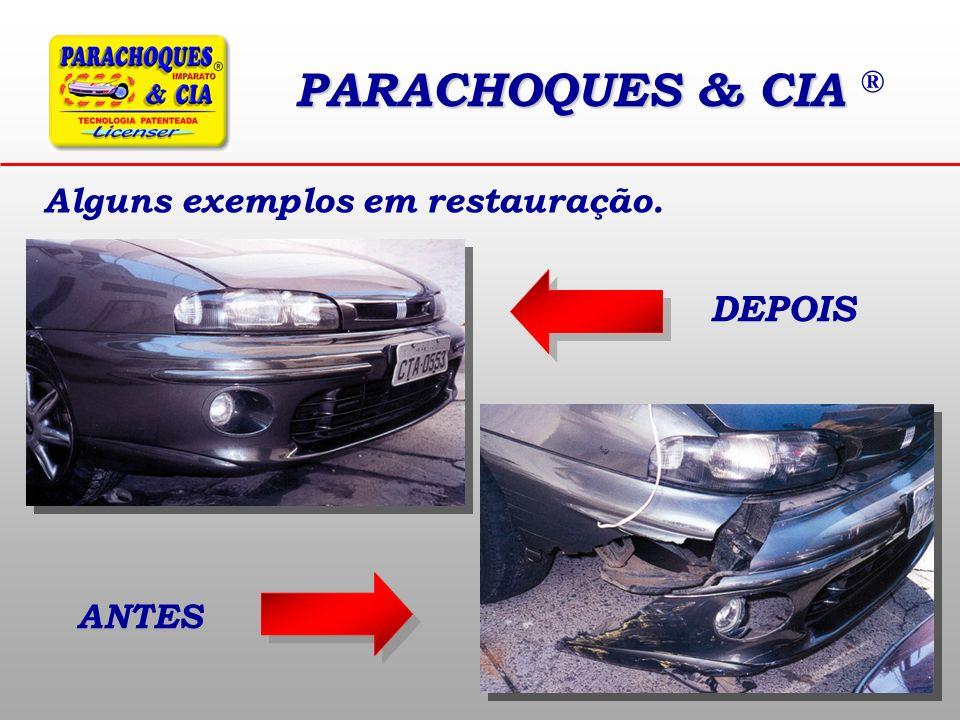 PARACHOQUES & CIA ® Alguns exemplos em restauração. DEPOIS ANTES