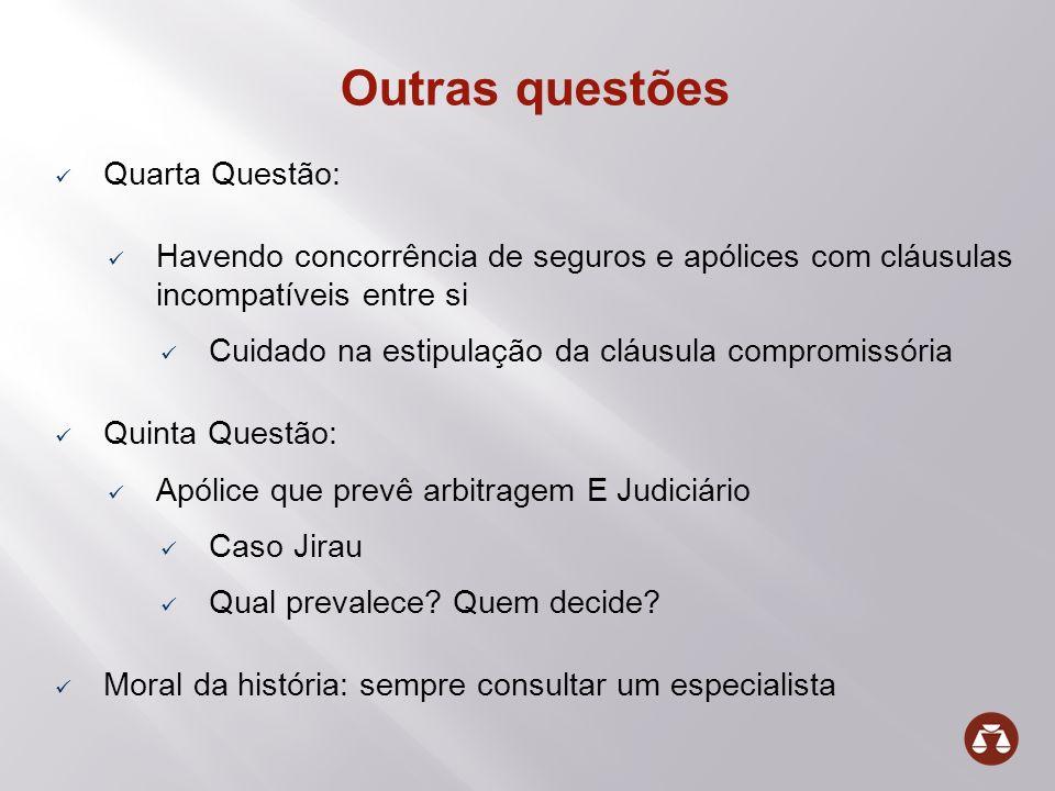 Outras questões Quarta Questão: