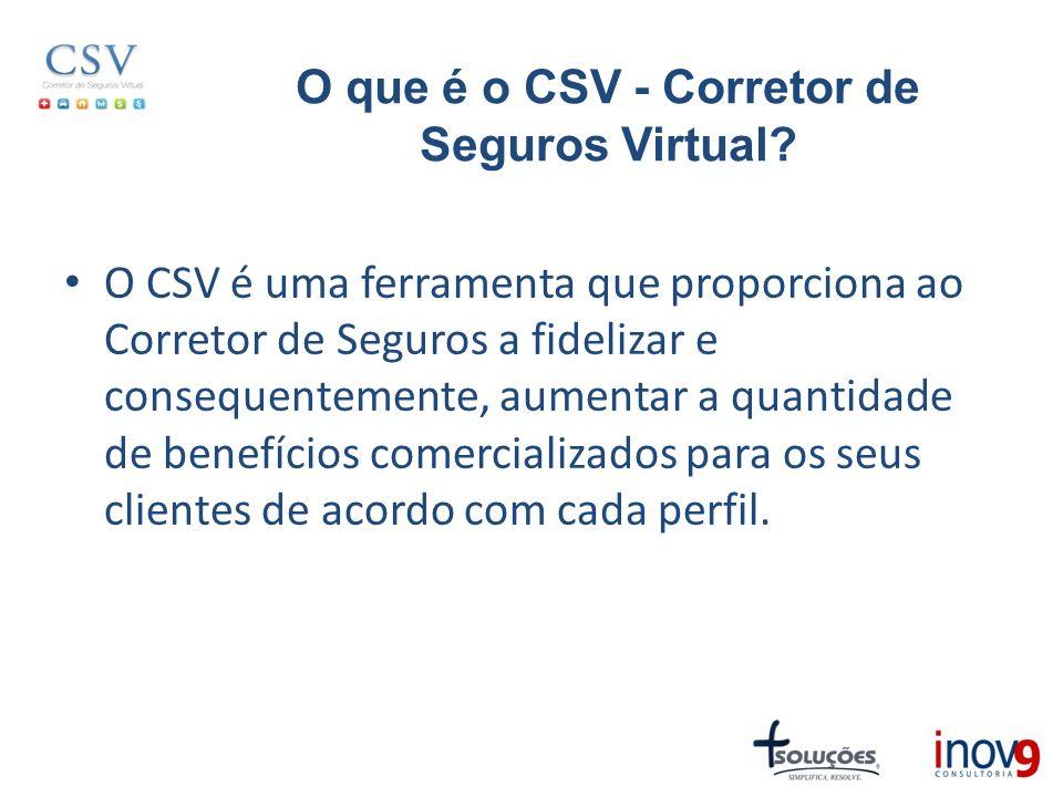 O que é o CSV - Corretor de Seguros Virtual