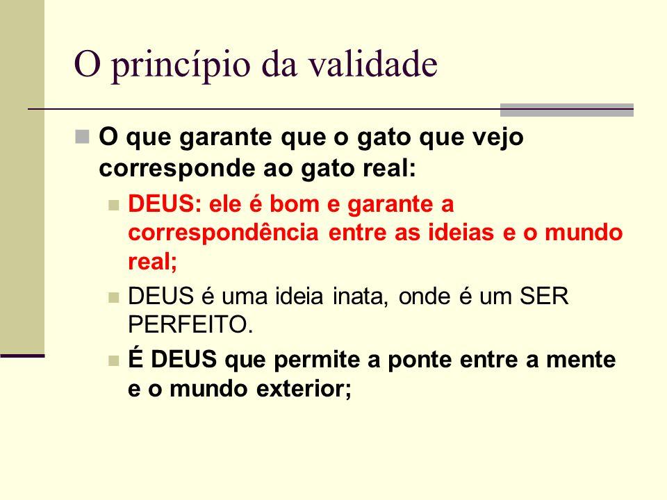 O princípio da validade