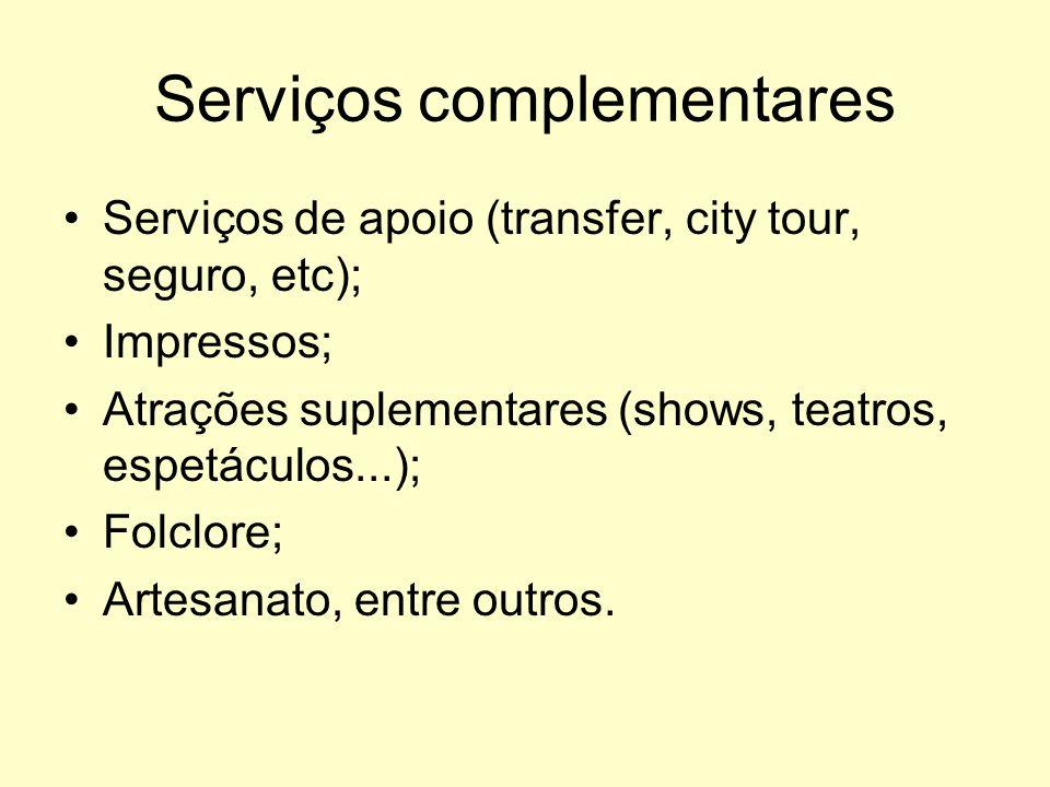 Serviços complementares