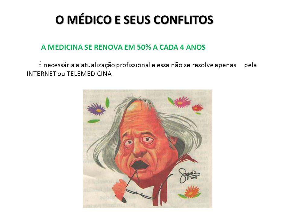 O MÉDICO E SEUS CONFLITOS