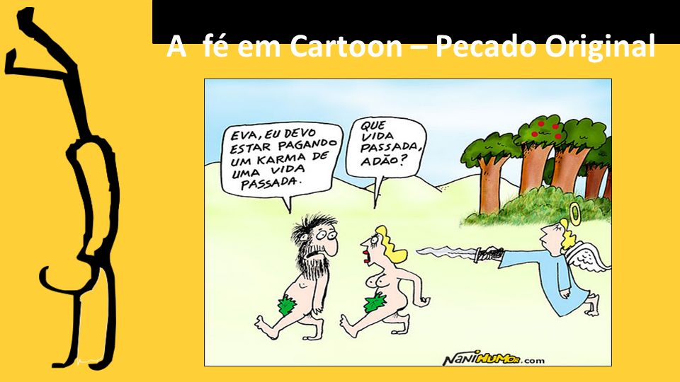 A fé em Cartoon – Pecado Original