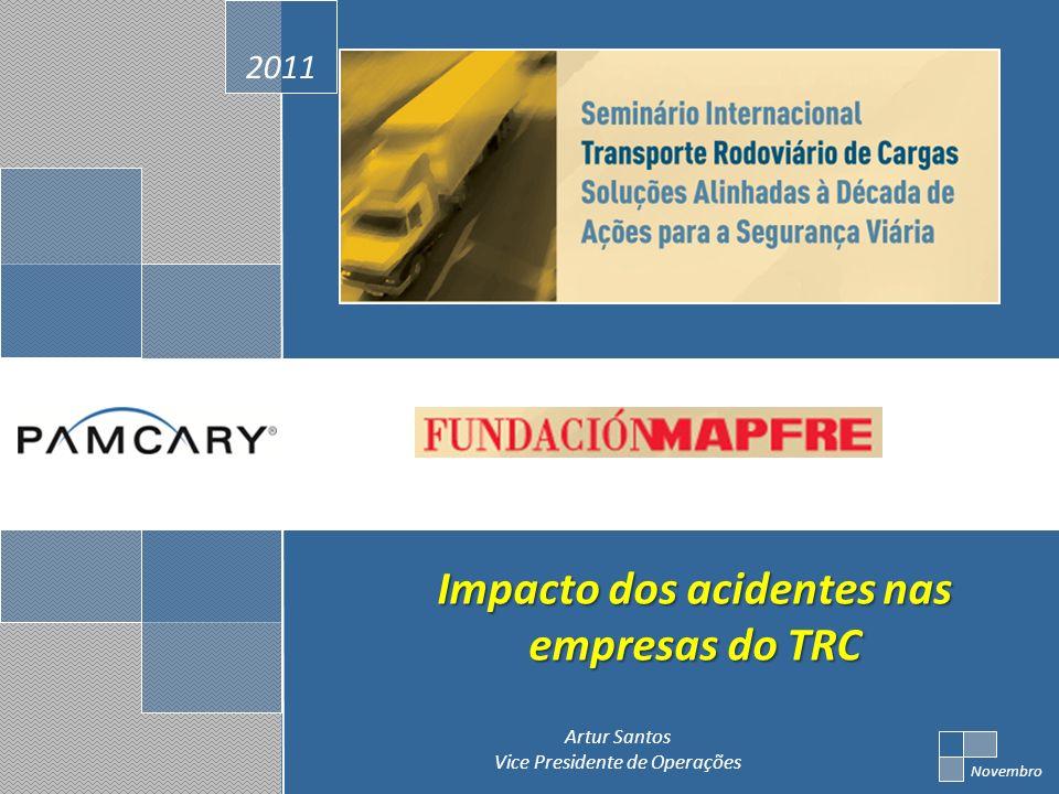 Impacto dos acidentes nas empresas do TRC
