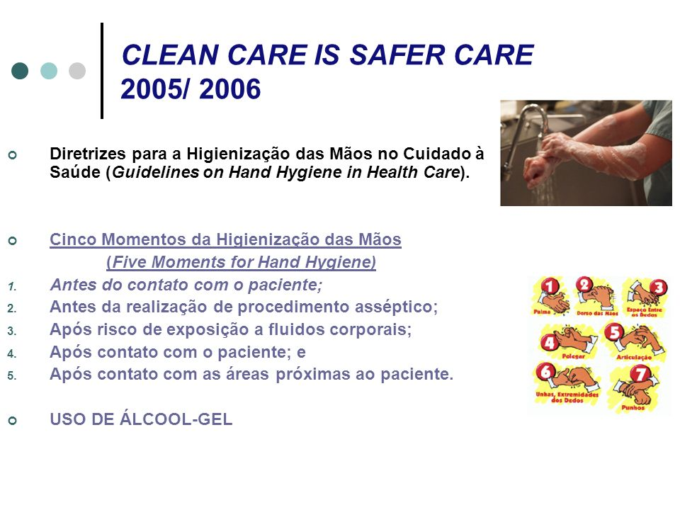 CLEAN CARE IS SAFER CARE 2005/ 2006
