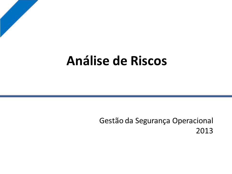 Gestão da Segurança Operacional 2013