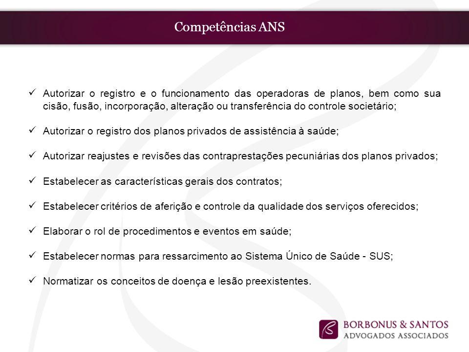 Competências ANS