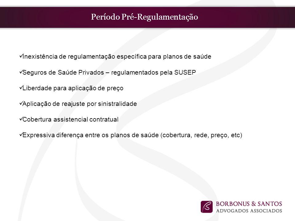 Período Pré-Regulamentação