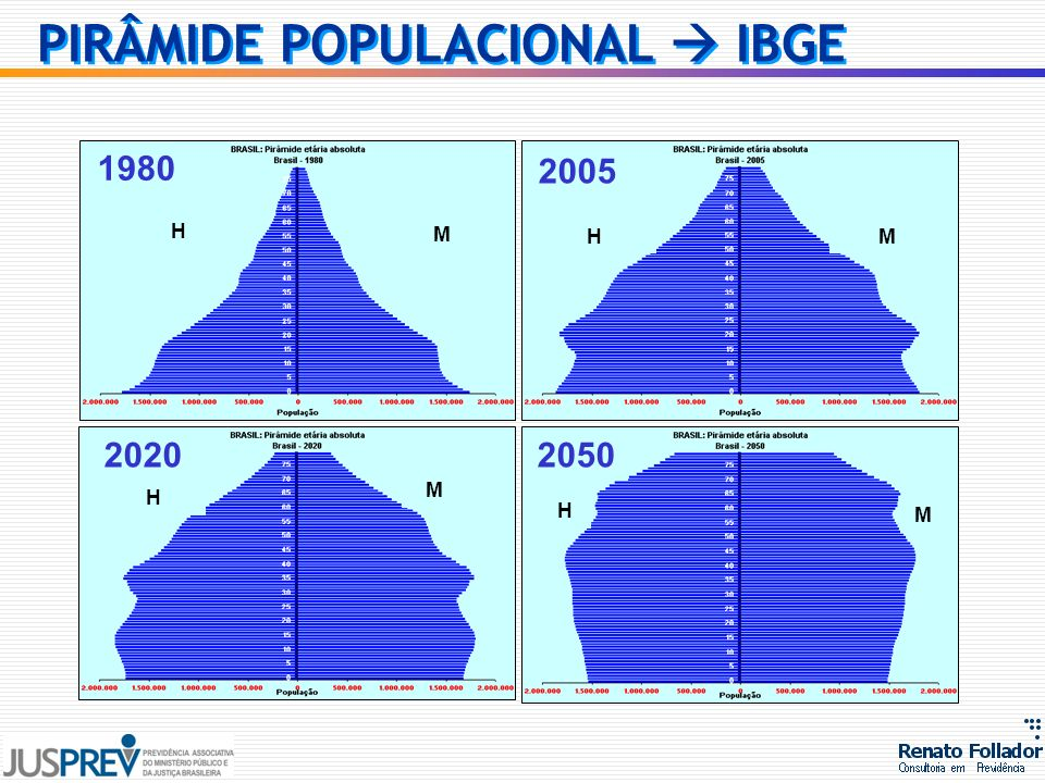 PIRÂMIDE POPULACIONAL  IBGE