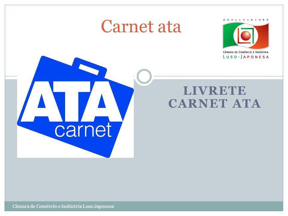 Carnet ata Livrete Carnet ATA