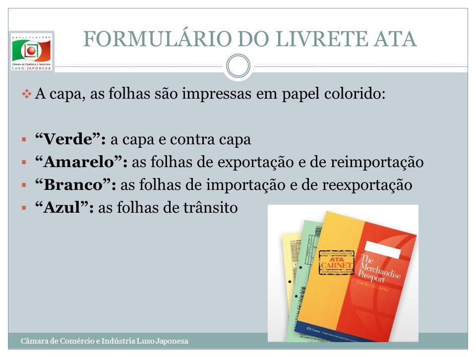 FORMULÁRIO DO LIVRETE ATA