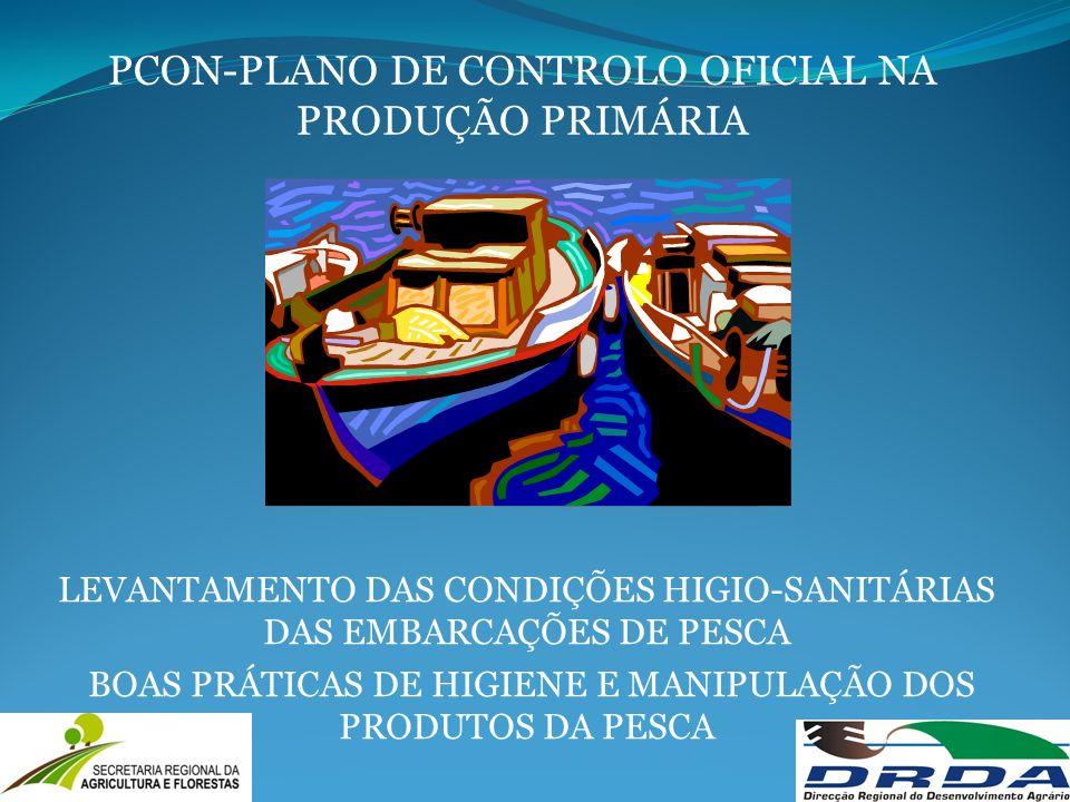 PCON-PLANO DE CONTROLO OFICIAL NA PRODUÇÃO PRIMÁRIA