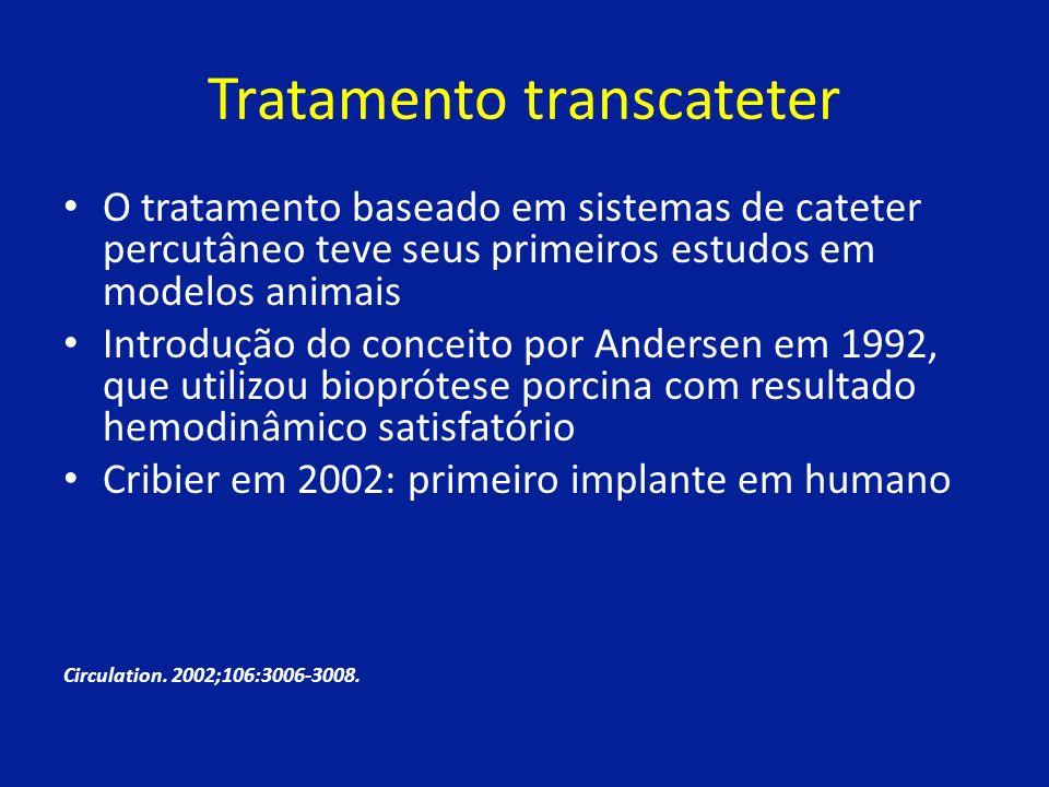 Tratamento transcateter