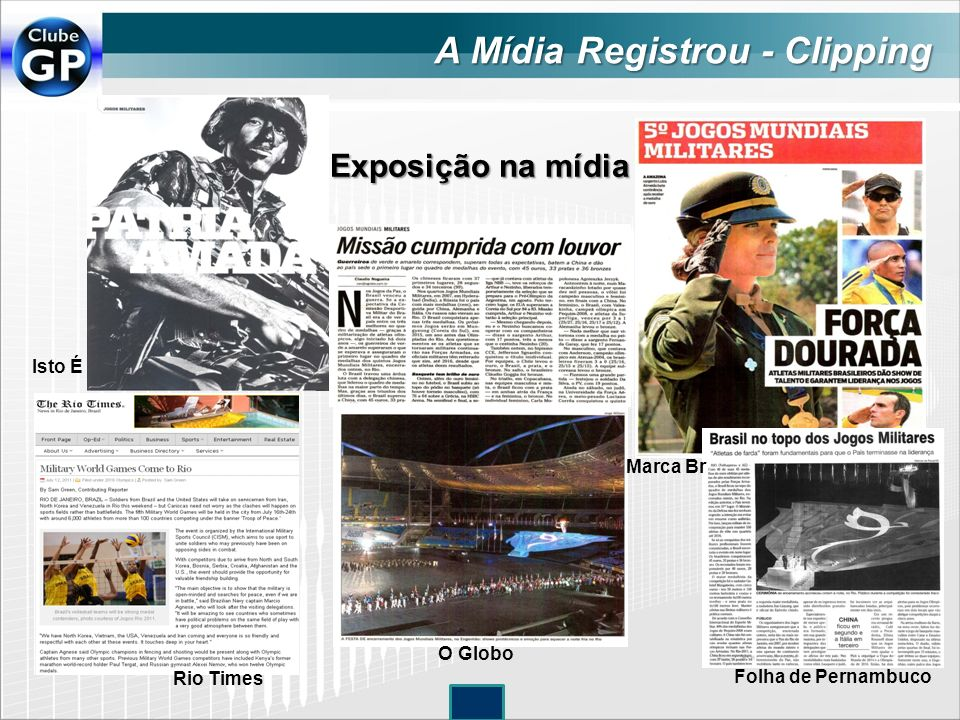 A Mídia Registrou - Clipping