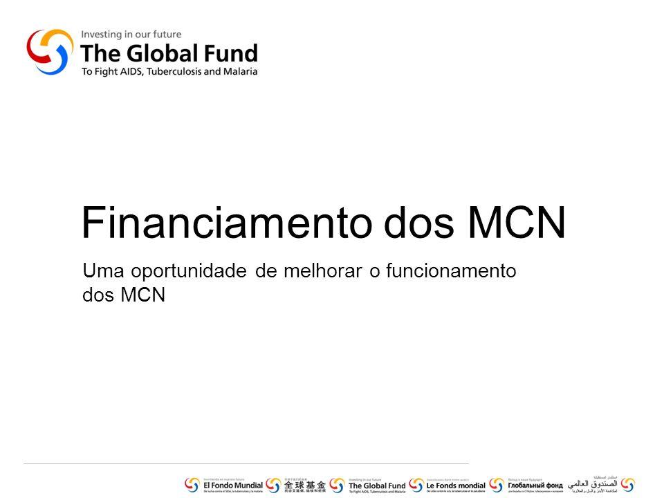 Uma oportunidade de melhorar o funcionamento dos MCN