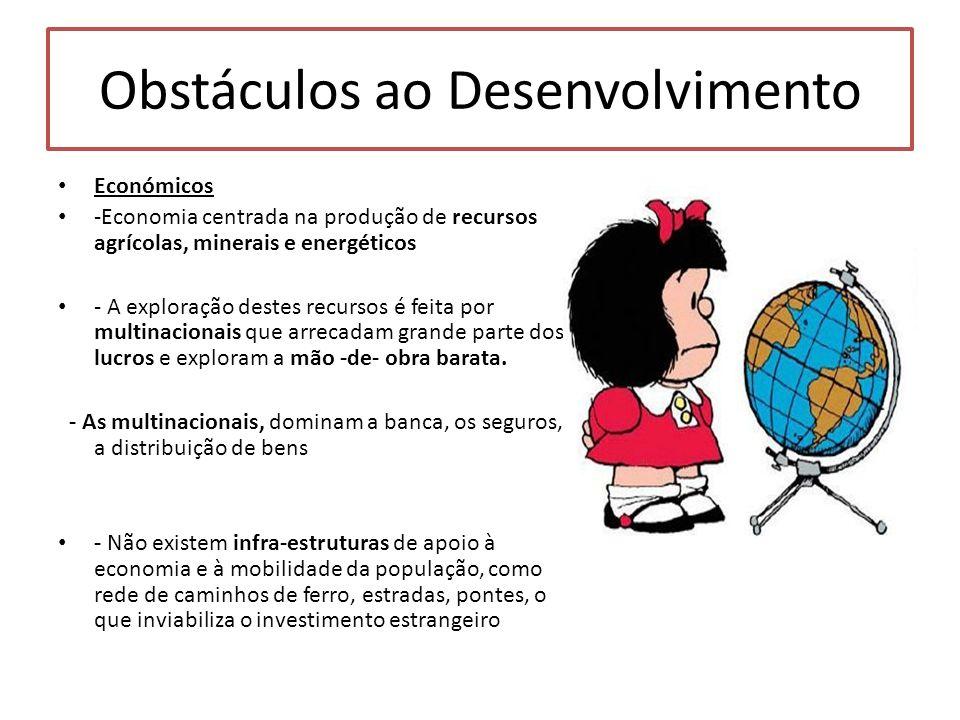 Obstáculos ao Desenvolvimento