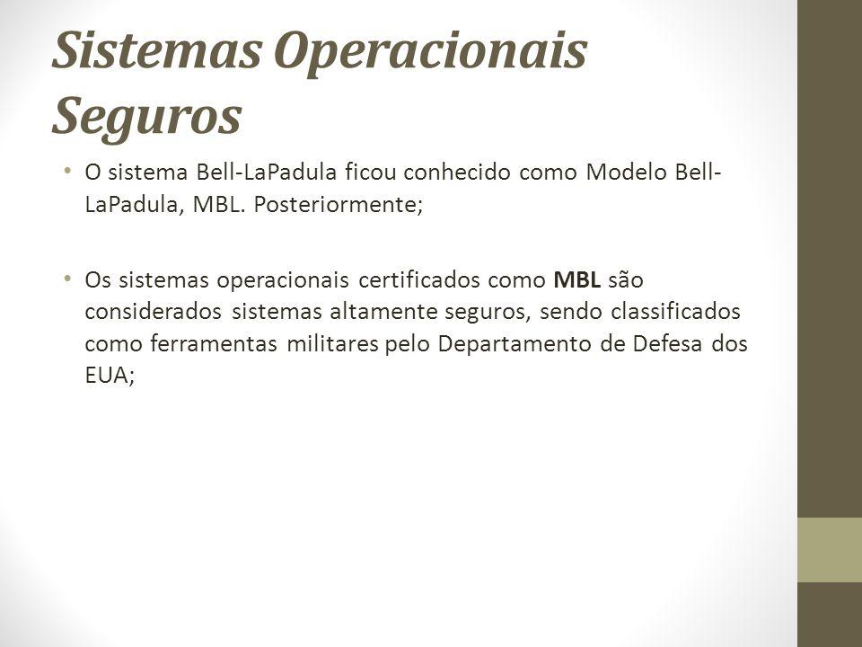 Sistemas Operacionais Seguros