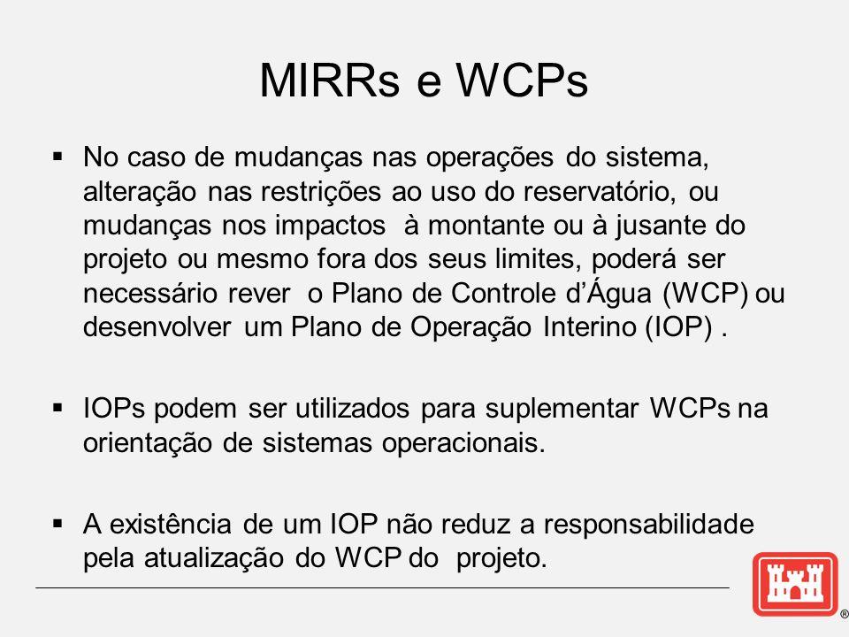 MIRRs e WCPs