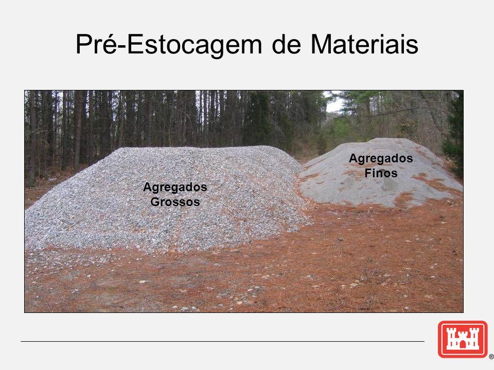 Pré-Estocagem de Materiais