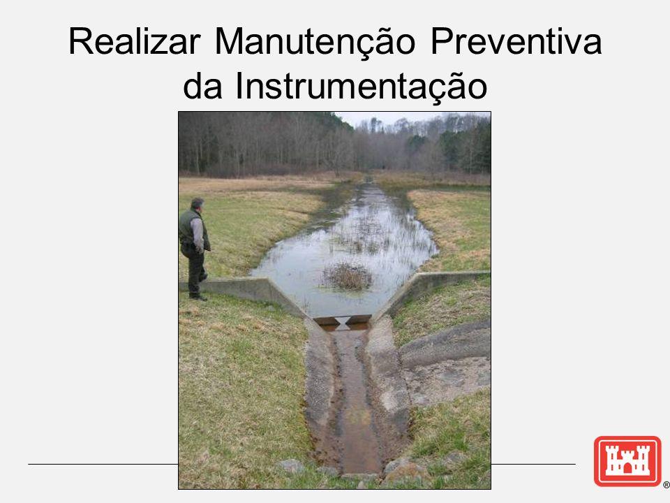 Realizar Manutenção Preventiva da Instrumentação