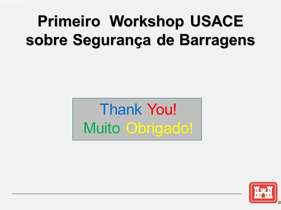 Primeiro Workshop USACE sobre Segurança de Barragens