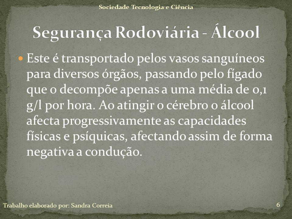 Segurança Rodoviária - Álcool