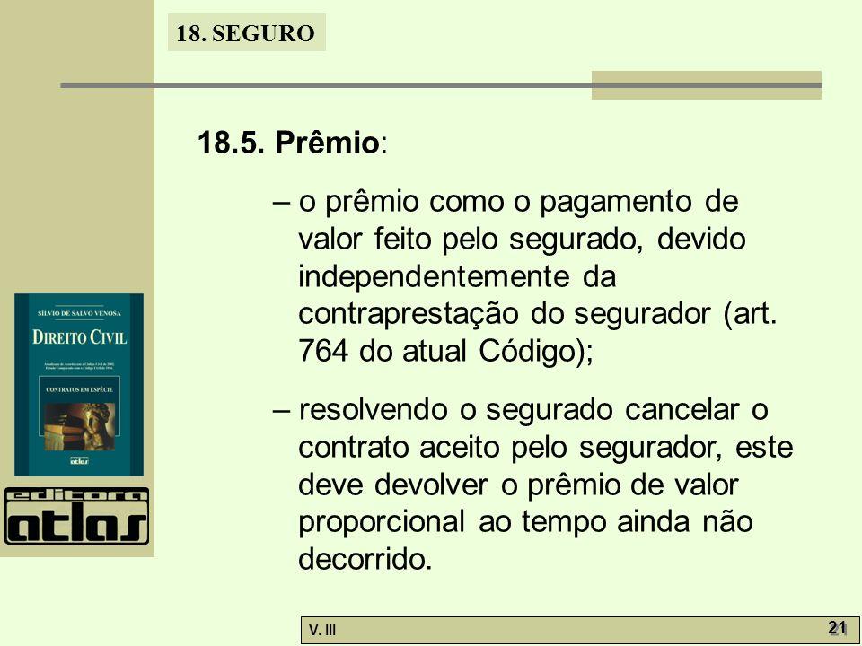 18.5. Prêmio: