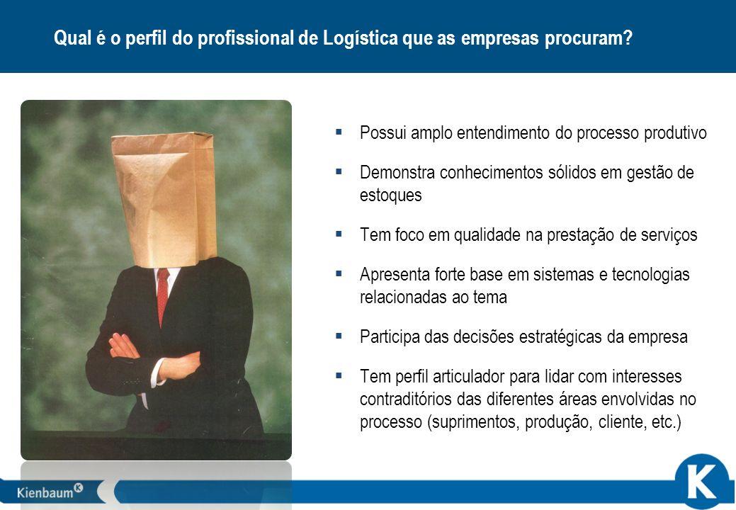 Qual é o perfil do profissional de Logística que as empresas procuram