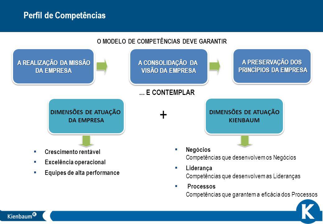 O MODELO DE COMPETÊNCIAS DEVE GARANTIR