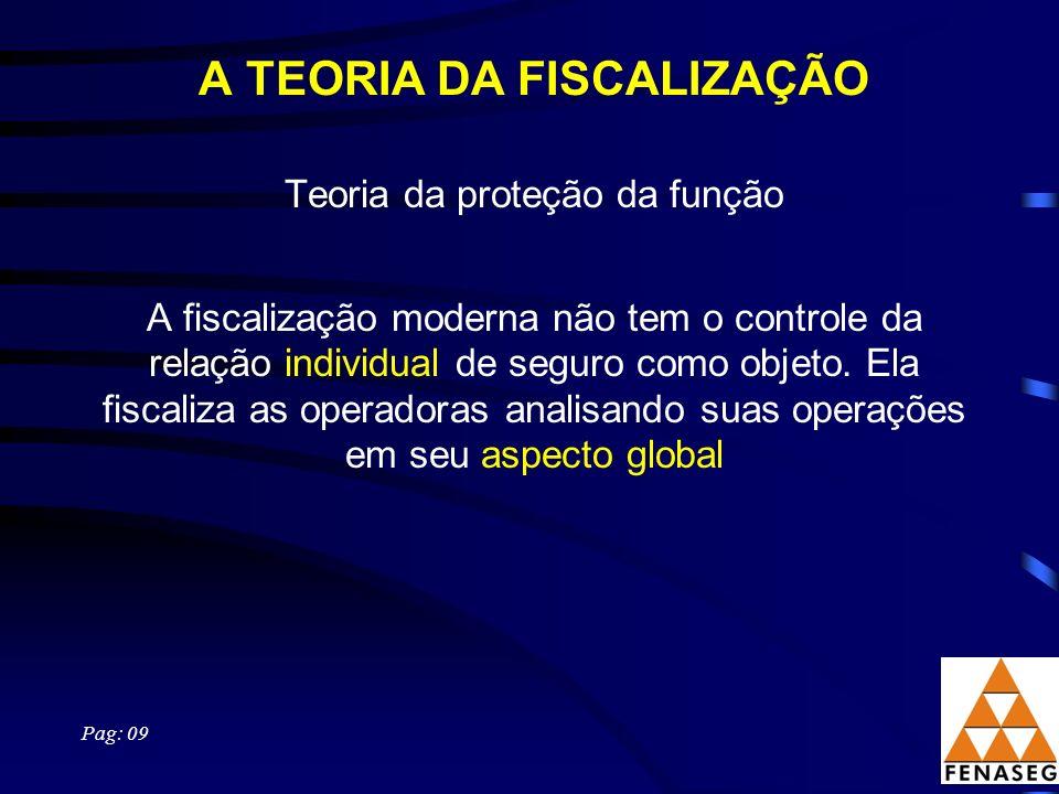 A TEORIA DA FISCALIZAÇÃO
