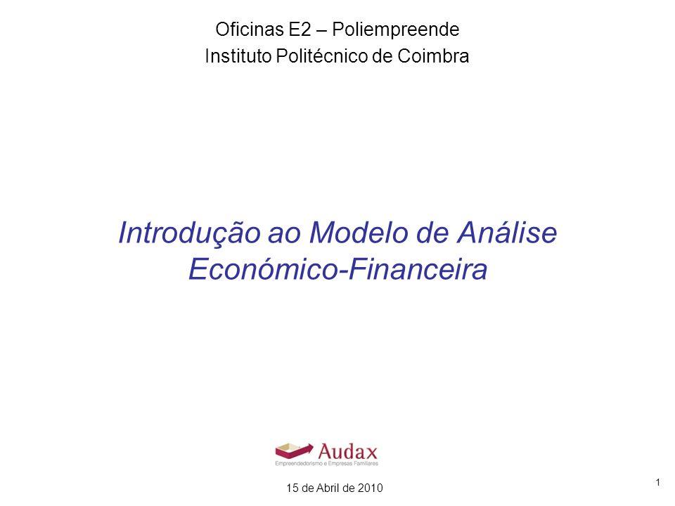 Introdução ao Modelo de Análise Económico-Financeira