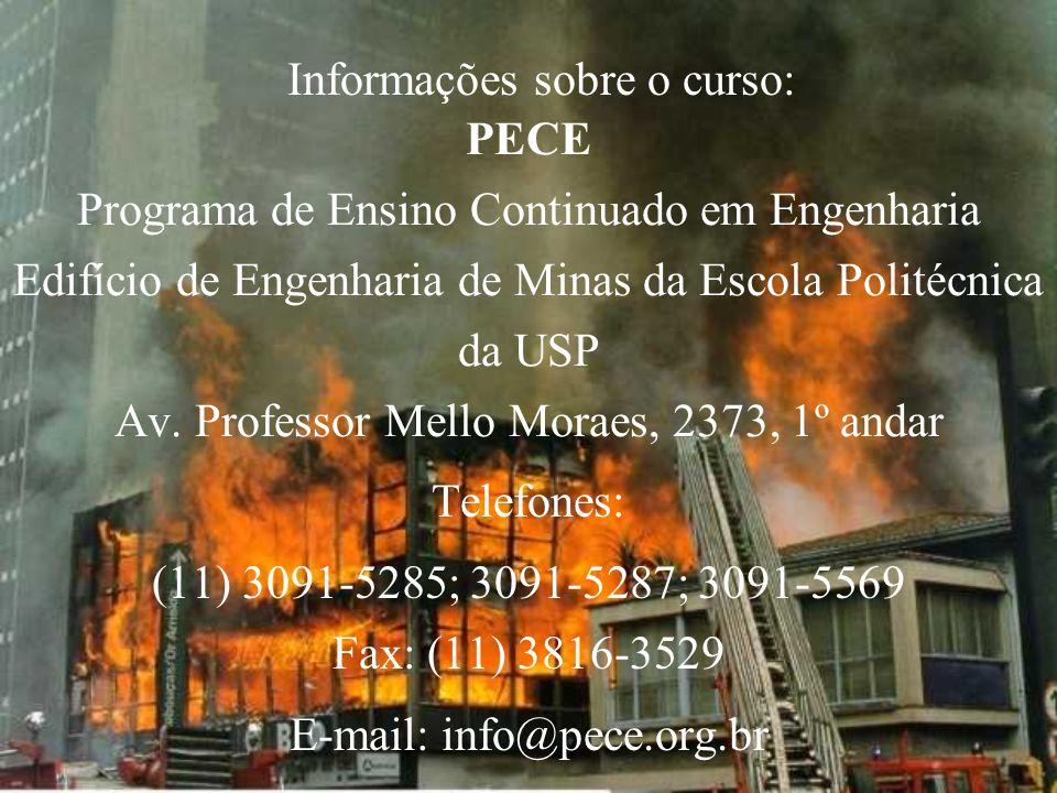 Informações sobre o curso: