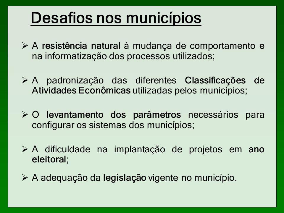 Desafios nos municípios