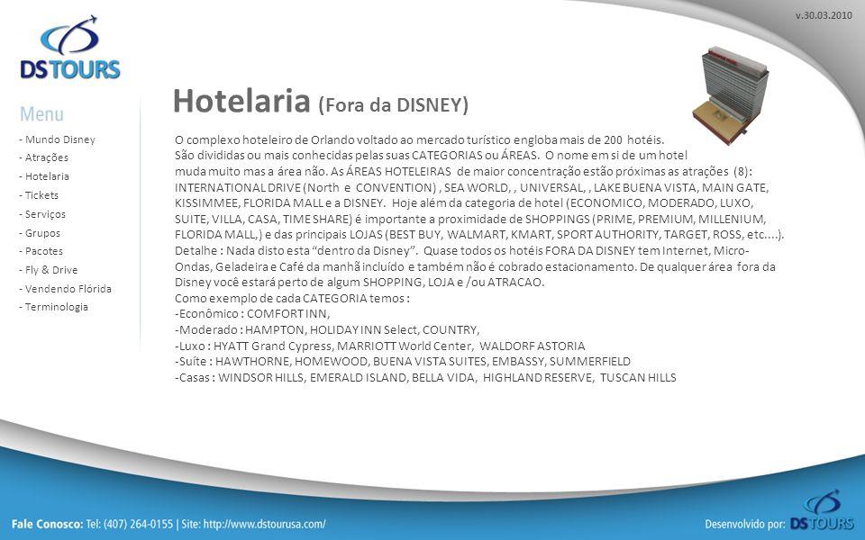 Hotelaria (Fora da DISNEY)