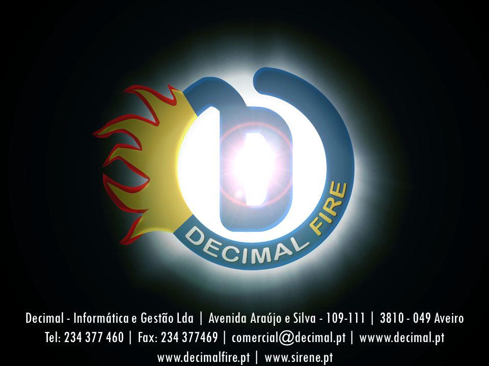 Decimal - Informática e Gestão Lda | Avenida Araújo e Silva - 109-111 | 3810 - 049 Aveiro