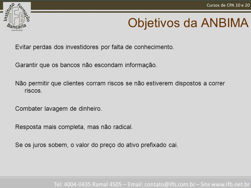 Objetivos da ANBIMA