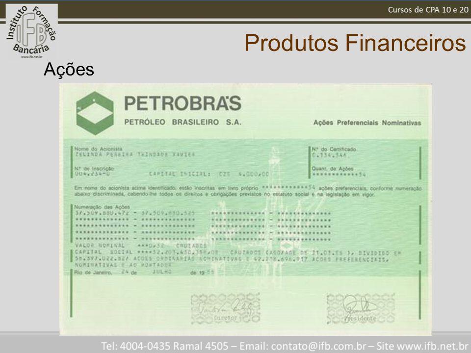 Produtos Financeiros Ações