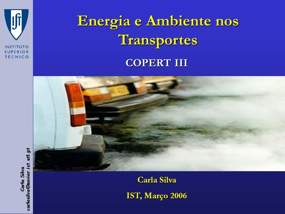 Energia e Ambiente nos Transportes