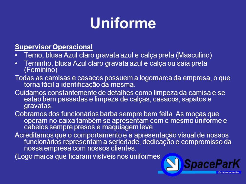 Uniforme Supervisor Operacional
