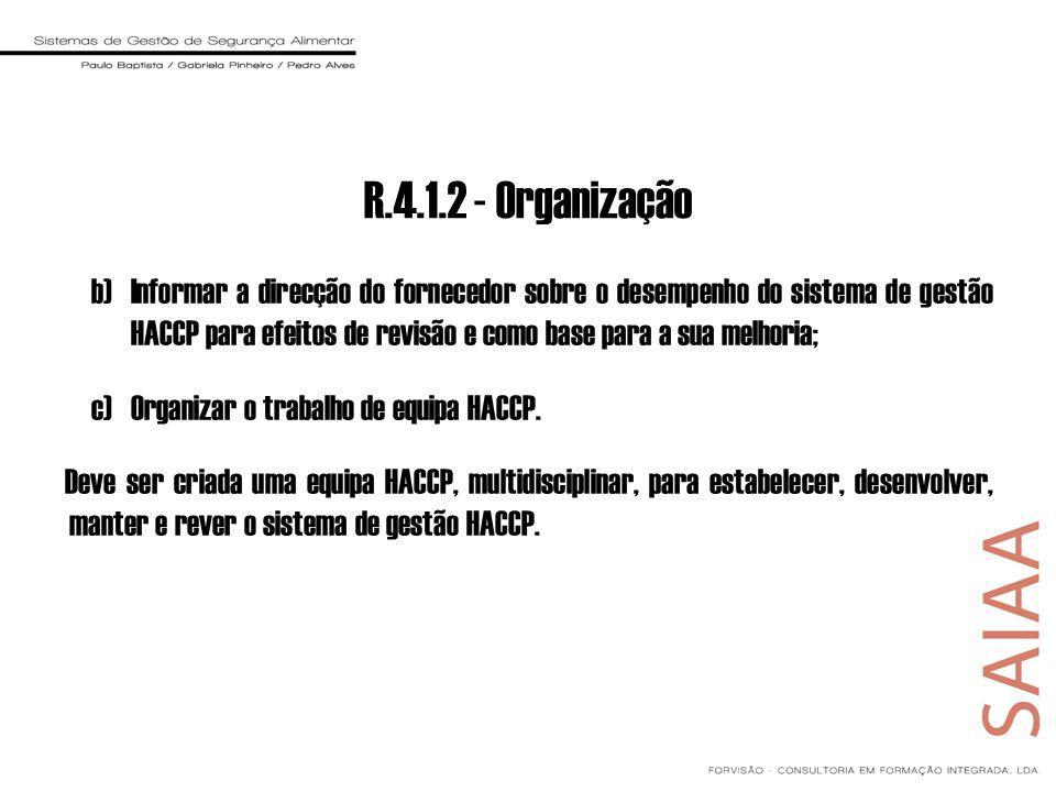 R.4.1.2 - Organização