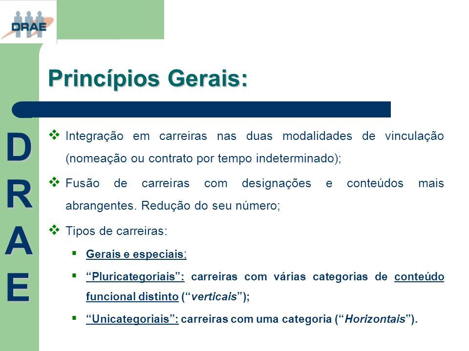 DRAE Princípios Gerais: