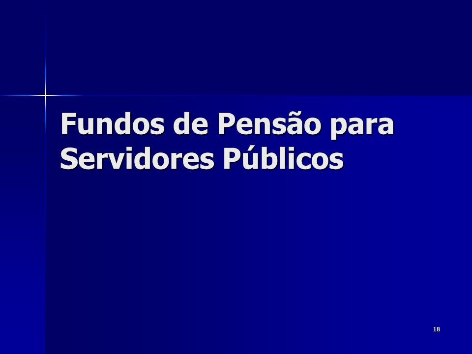 Fundos de Pensão para Servidores Públicos