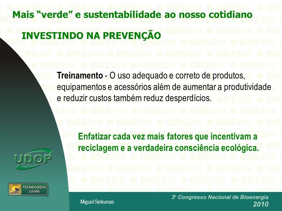 Mais verde e sustentabilidade ao nosso cotidiano