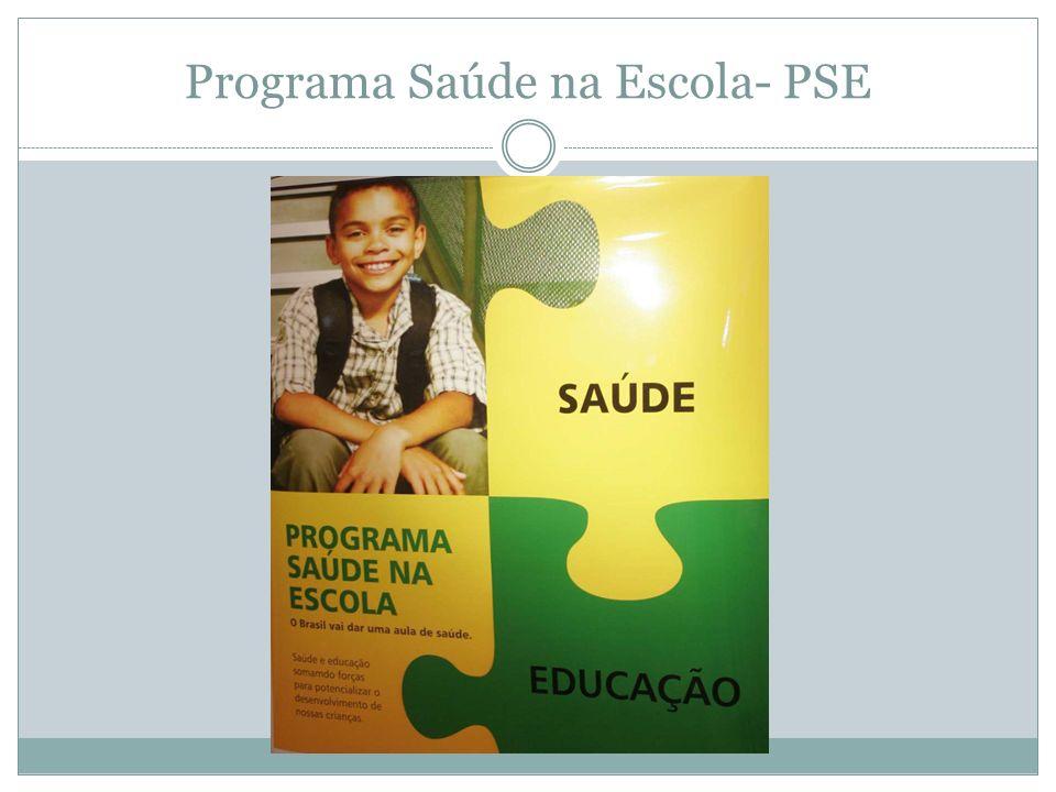 Programa Saúde na Escola- PSE