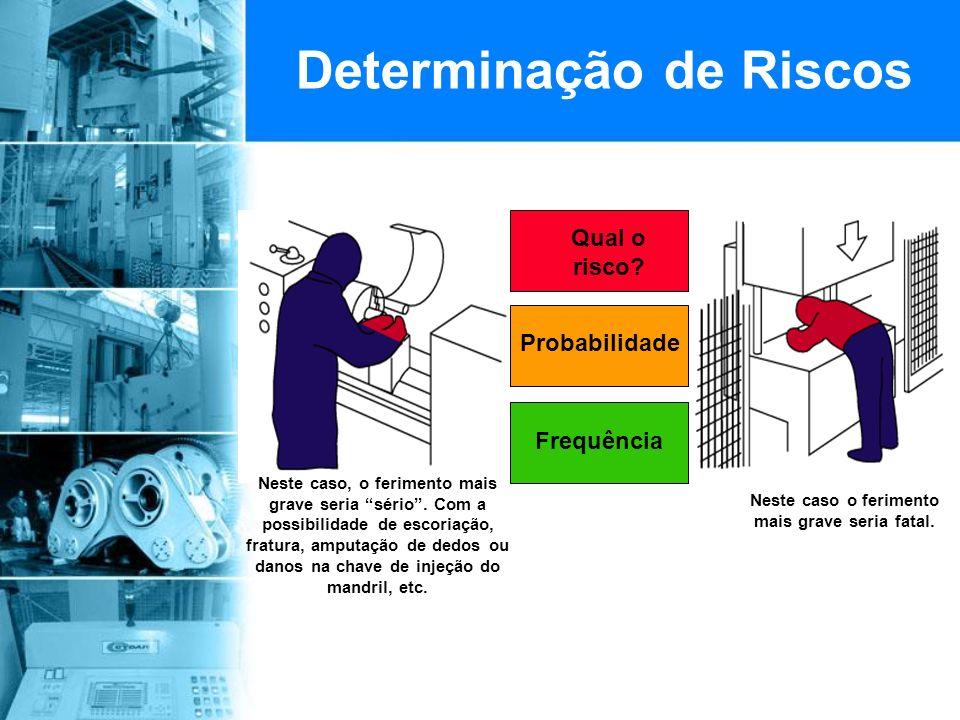 Determinação de Riscos